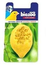 Лимоново минерално камъче, предназначено за канарчета и вълнисти папагалчета.